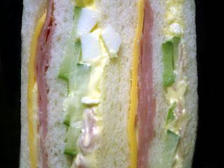 sandwich 砂と魔女・・・